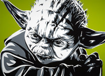 Star Wars Artwork Star Wars Artwork Yoda (AP)